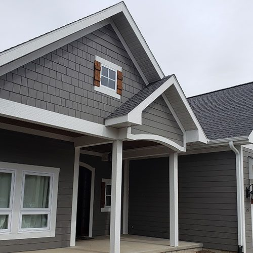 a-frame residential home